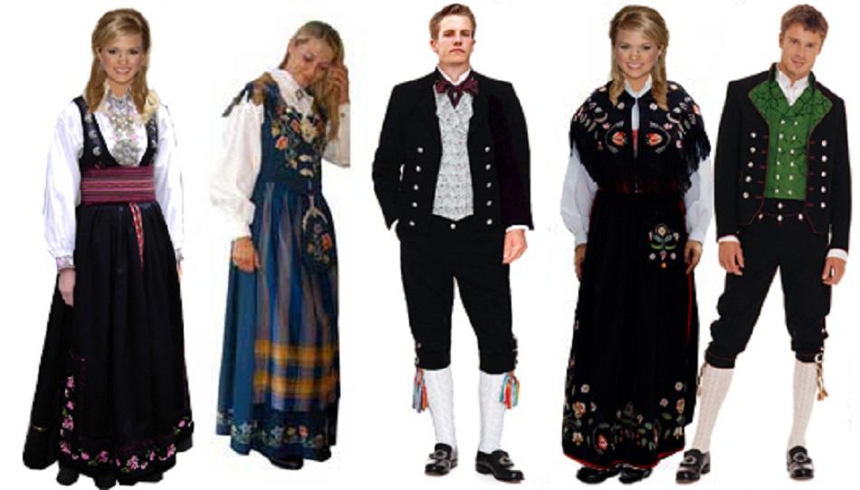 """De """"bunad"""" Traje El Tradicional Noruega Es wTOilPZukX"""